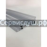 Уплотнитель-магнит (силикон) для дверей душевой кабины 4мм  (дл.1,9 м)