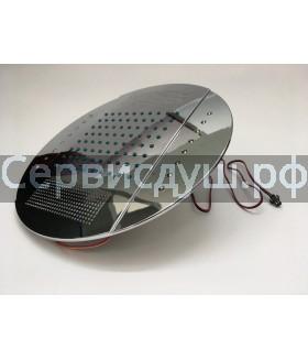 Лейка тропическая с подсветкой для душевой кабины диаметр - 250 мм