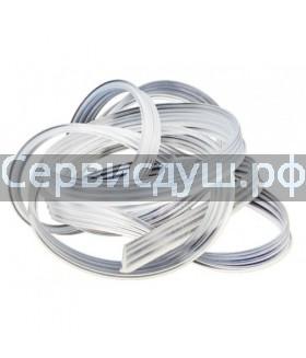 Уплотнитель (силикон) для неподвижного стекла душевой кабины конус (дл.1 м)
