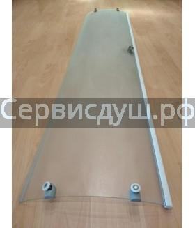 Двери и стенки для душевых кабин радиусные и прямые