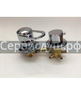 Смеситель для душ. кабины  2 режима (150 мм.)