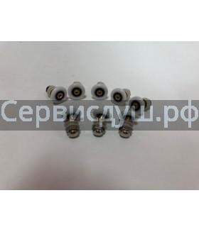 Ролик дверцы душевой кабины эксцентрик металл - 23 мм, 25 мм 8 шт. (компл)