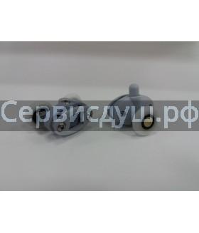 Ролик дверцы душевой кабины под два отверстия в стекле - 23 мм (8 шт. комплект)
