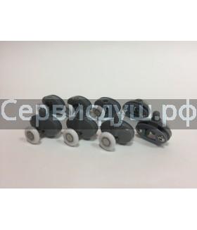 Ролик дверцы душевой кабины,диаметр колёсика - 19 мм , 25 мм (компл. 8 шт.)