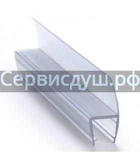 Уплотнитель (силикон) нижний для дверок душевой кабины 6 мм,8 мм,10мм (длина 2 м.)