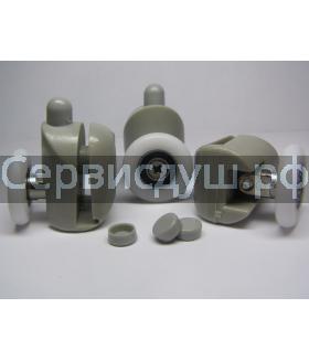 Ролик дверцы душевой кабины нижний (4 шт. комплект) - 22 мм , 25 мм