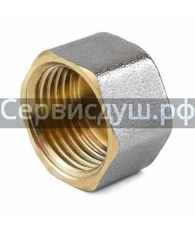 Заглушка для смесителя душевой кабины диаметр резьбы-1/2 вн.(д.у 15)